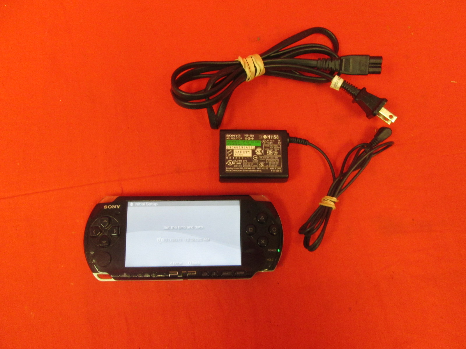 Sony PSP 1001 Handheld Portable Video Game System