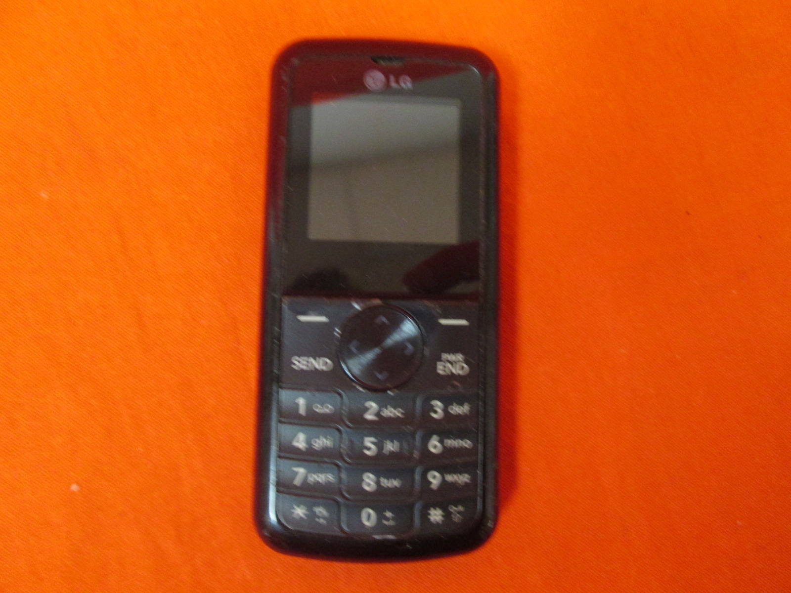 LG 300 Pre-Paid Cell Phone For NET10 Black