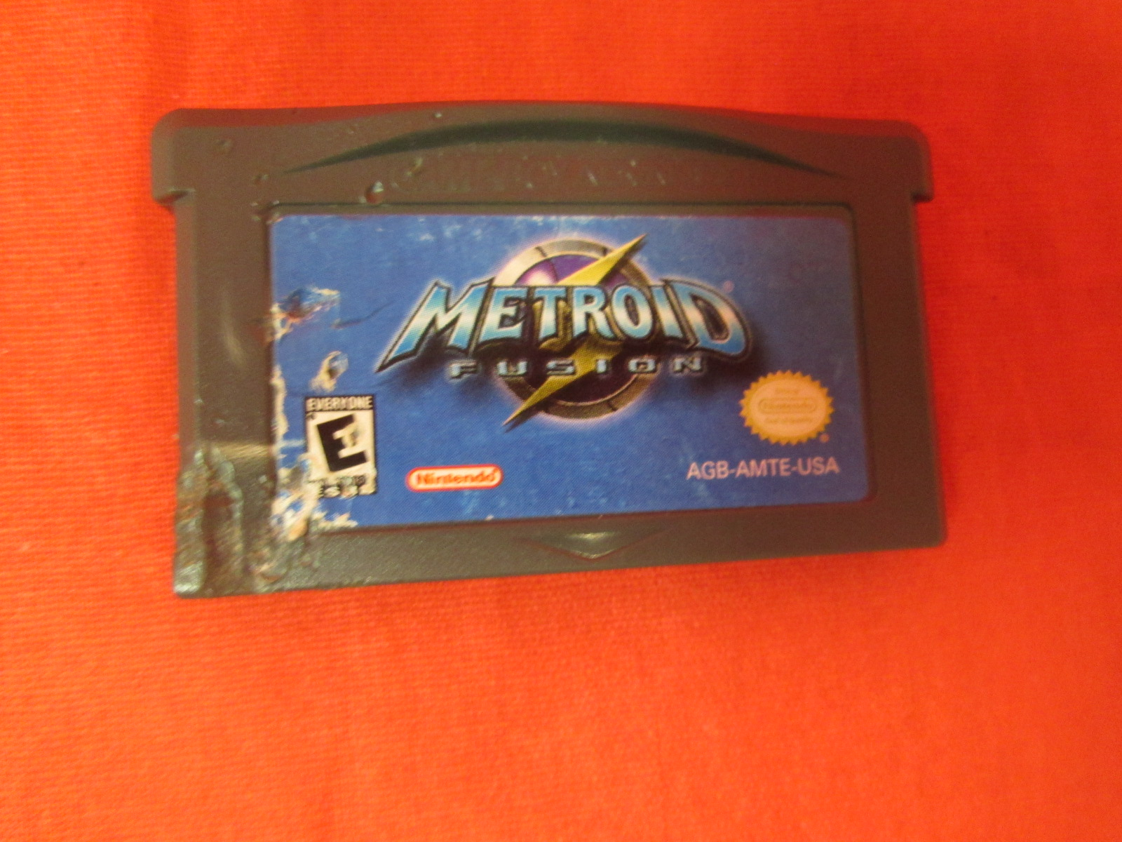 Metroid Fusion For GBA Gameboy Advance