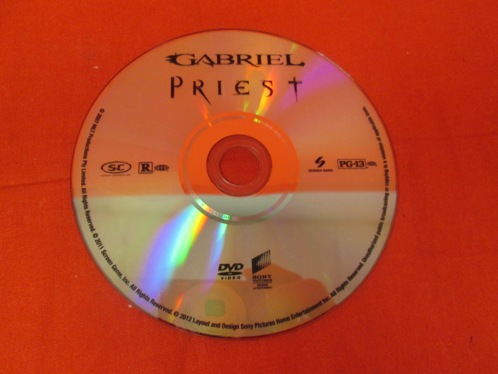 Gabriel 2007 Priest 2011 On DVD With Paul Bettany