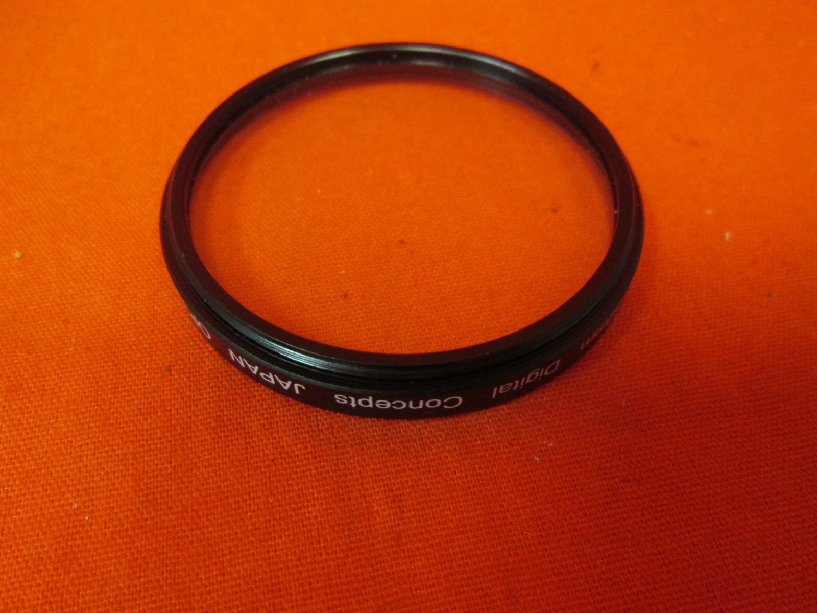 Digital Concepts 52MM UV Filter Metal RIM & Glass Blister Pack