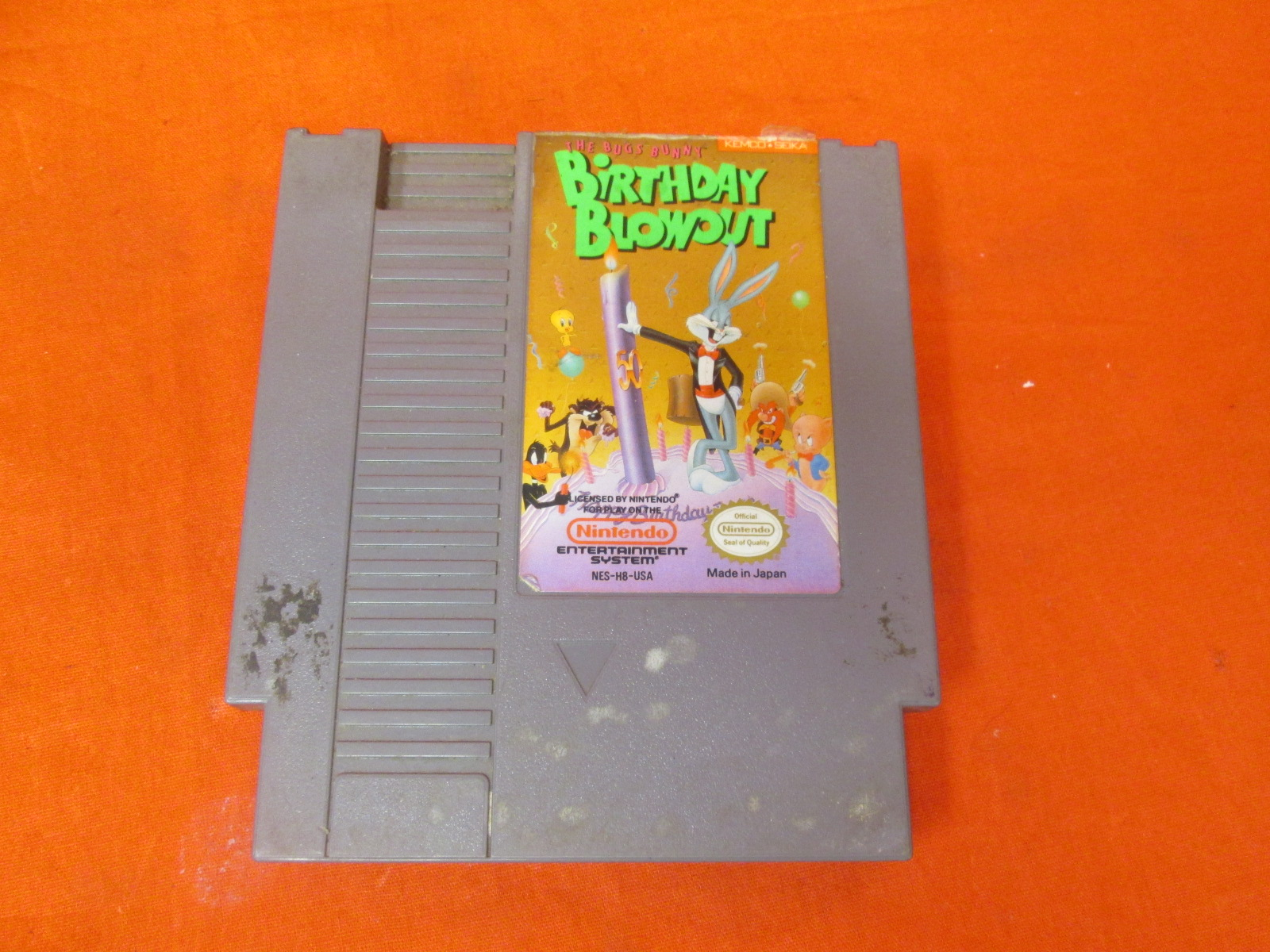 Birthday Blowout Game For Nintendo NES