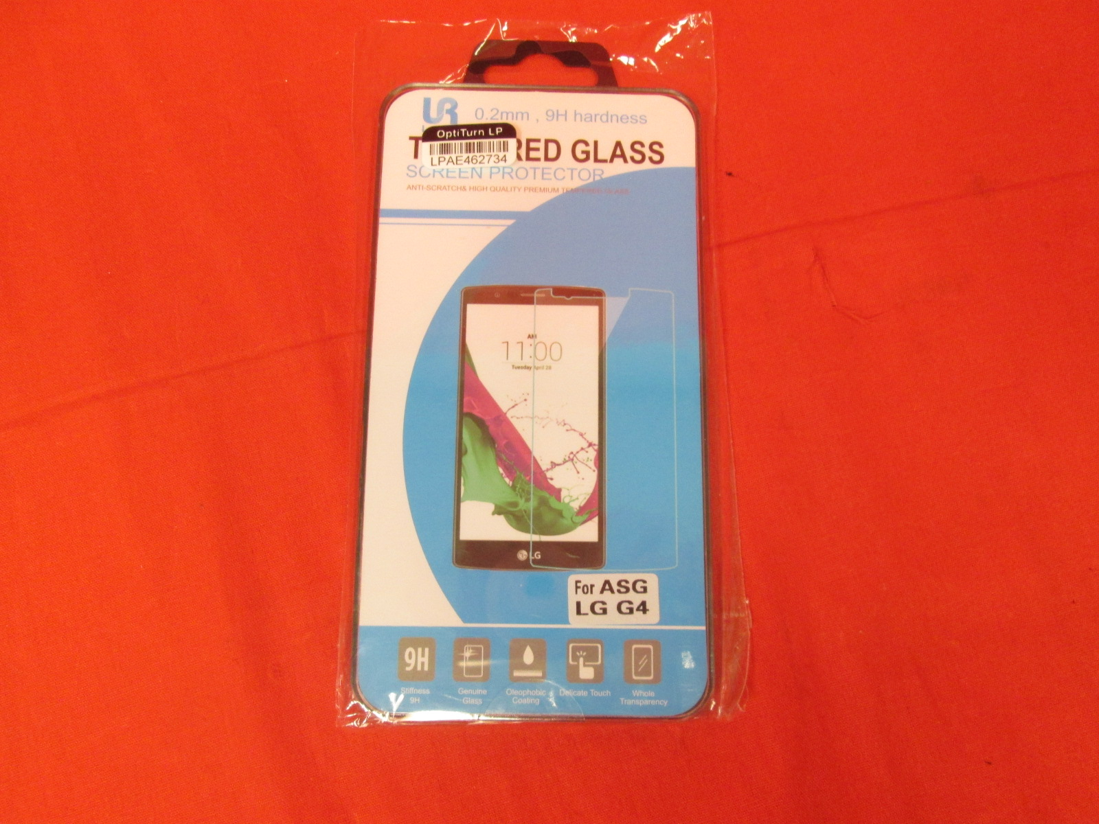 Loroc'e Tempered Glass Screen Protector For Asg LG G4