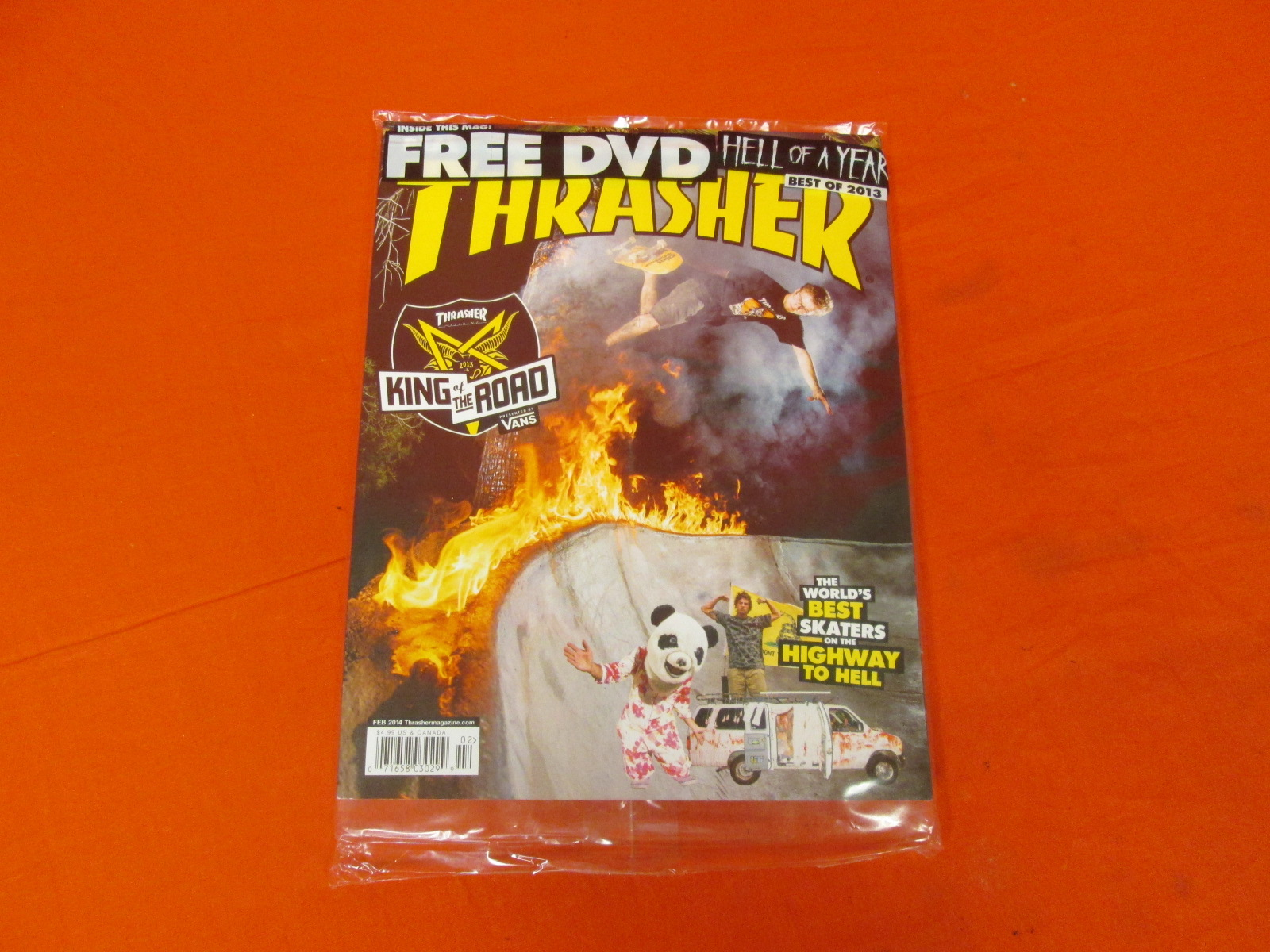 Thrasher Magazine Best Of 2013 With Free DVD Feb 2014
