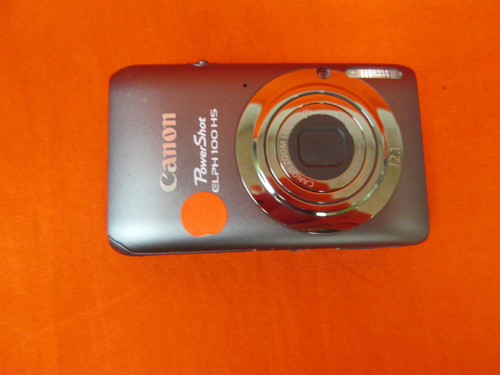 Canon Powershot Elph 100 Is Silver Camera