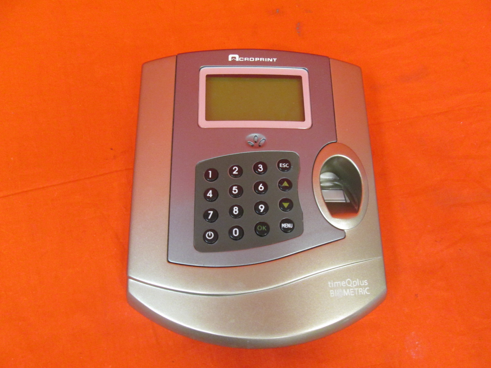 Acroprint 010231000 Time Q Plus Biometric Time And Attendance System