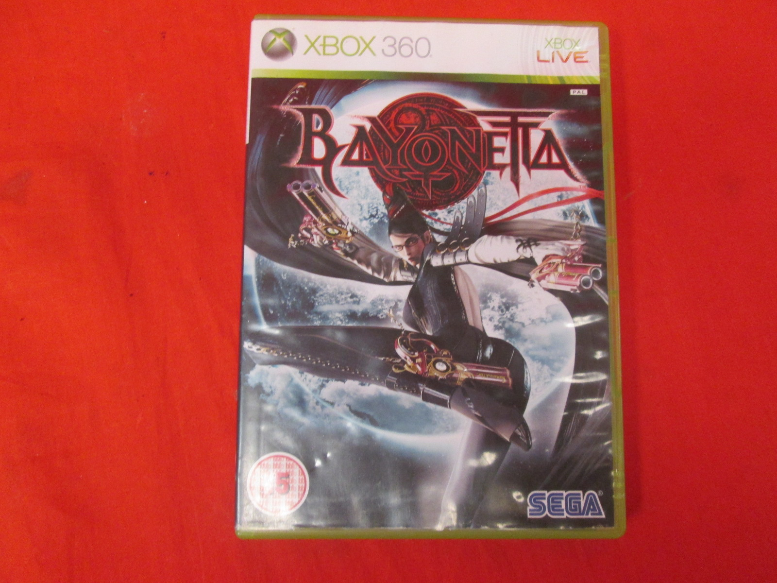 Bayonetta Xbox 360 For PlayStation 3 PAL Version With Manual And Case