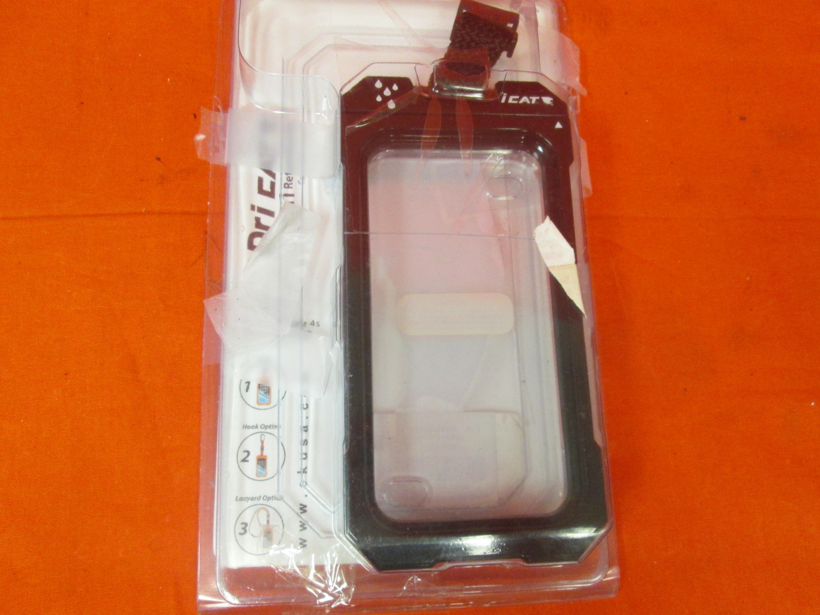 Dri Cat 11060P-C20 Neck It Waterproof Case With Lanyard For iPhone 5