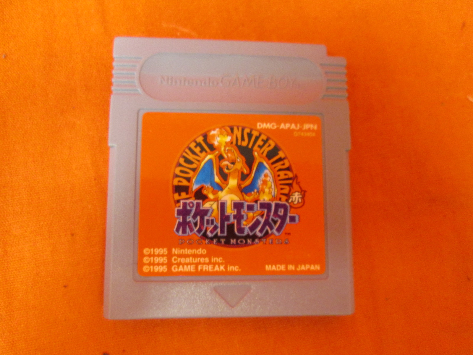 Pocket Monsters Red Pokemon Version Japan Import On Gameboy Color Ntsc