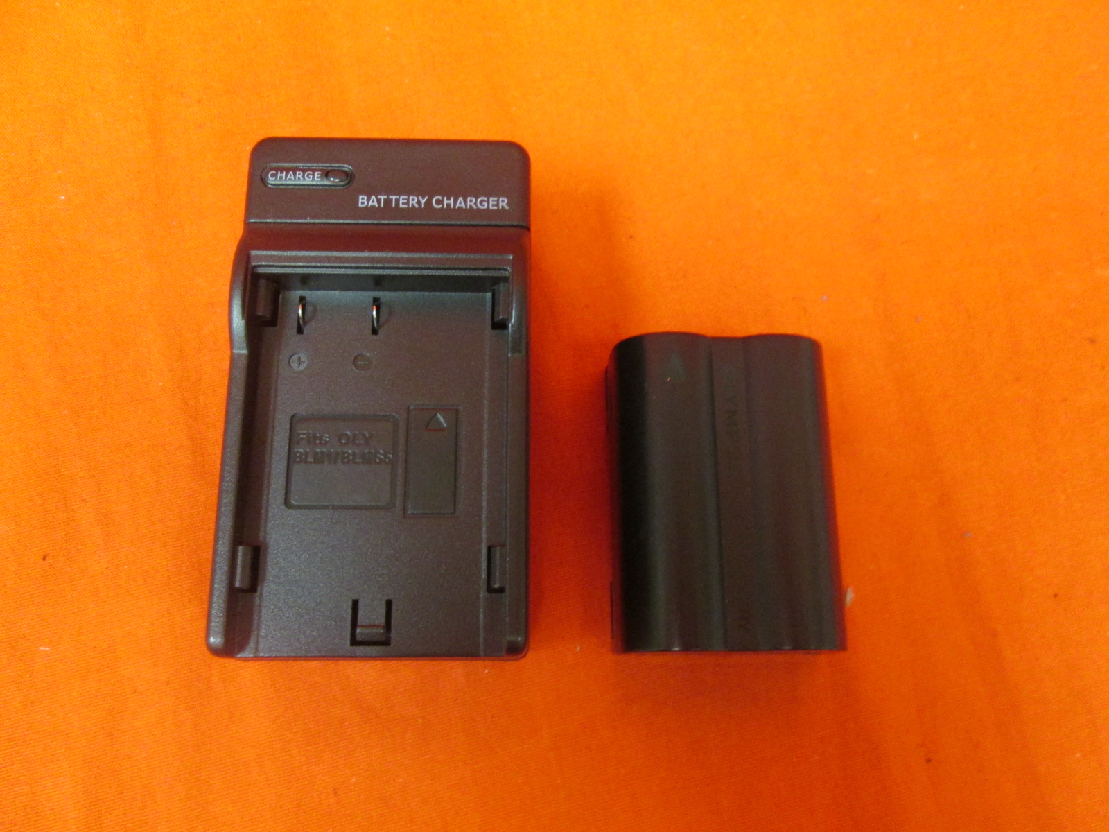 Olympus Brand BLM-1 Battery And DC11 Travel Charger Adapter Evolt E-30