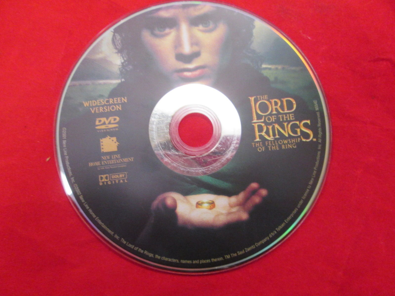 The Lord Of The Rings: The Fellowship Of The Ringwidescreen On DVD