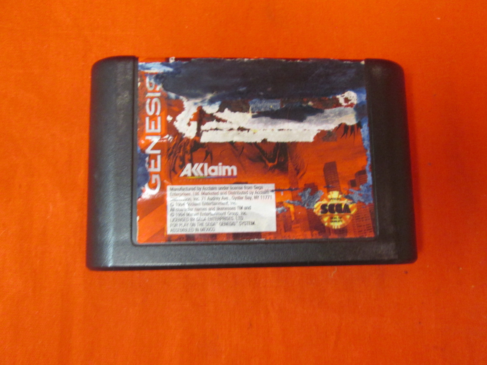Spider-Man / Venom: Maximum Carnage For Sega Genesis