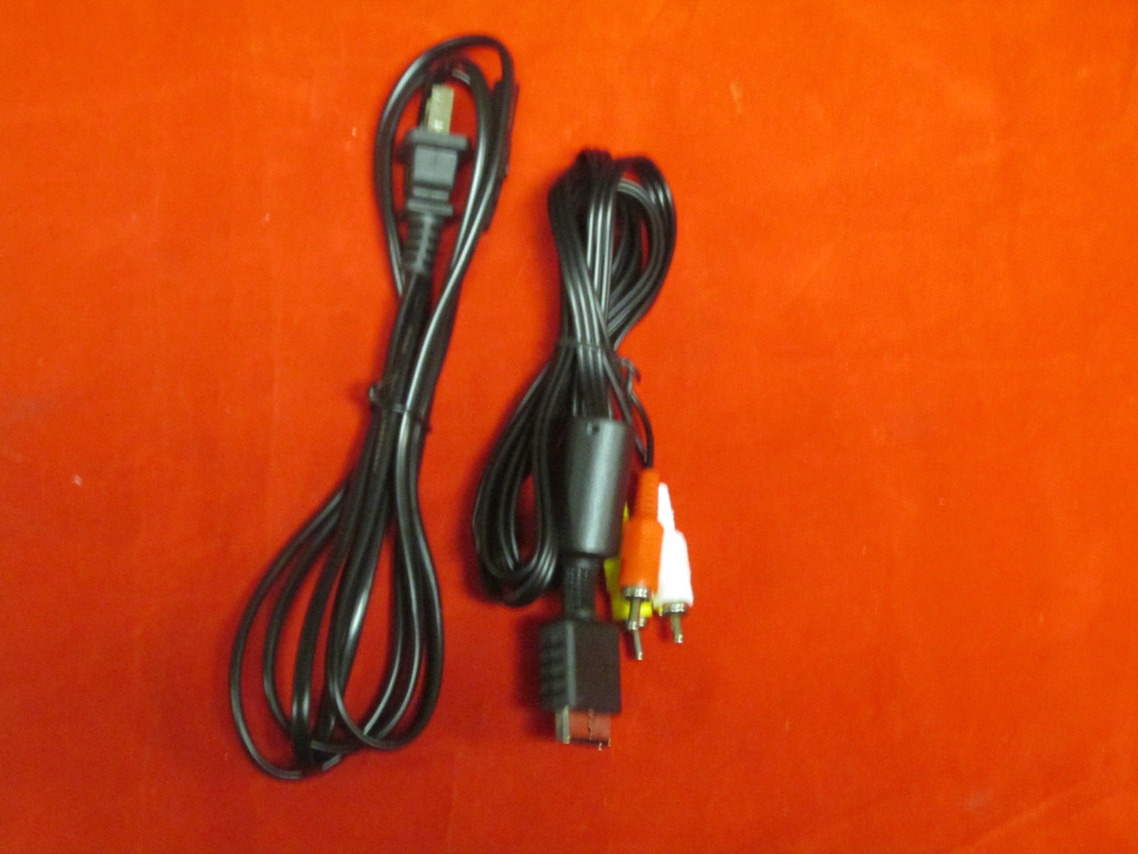 PS3 PlayStation 3 AV Cable And Power Cable For PS3 Slim And Super Slim