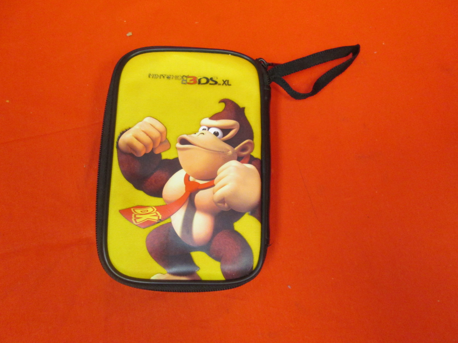 Donkey Kong Yellow Travel Case For Nintendo 3DS Console Games And