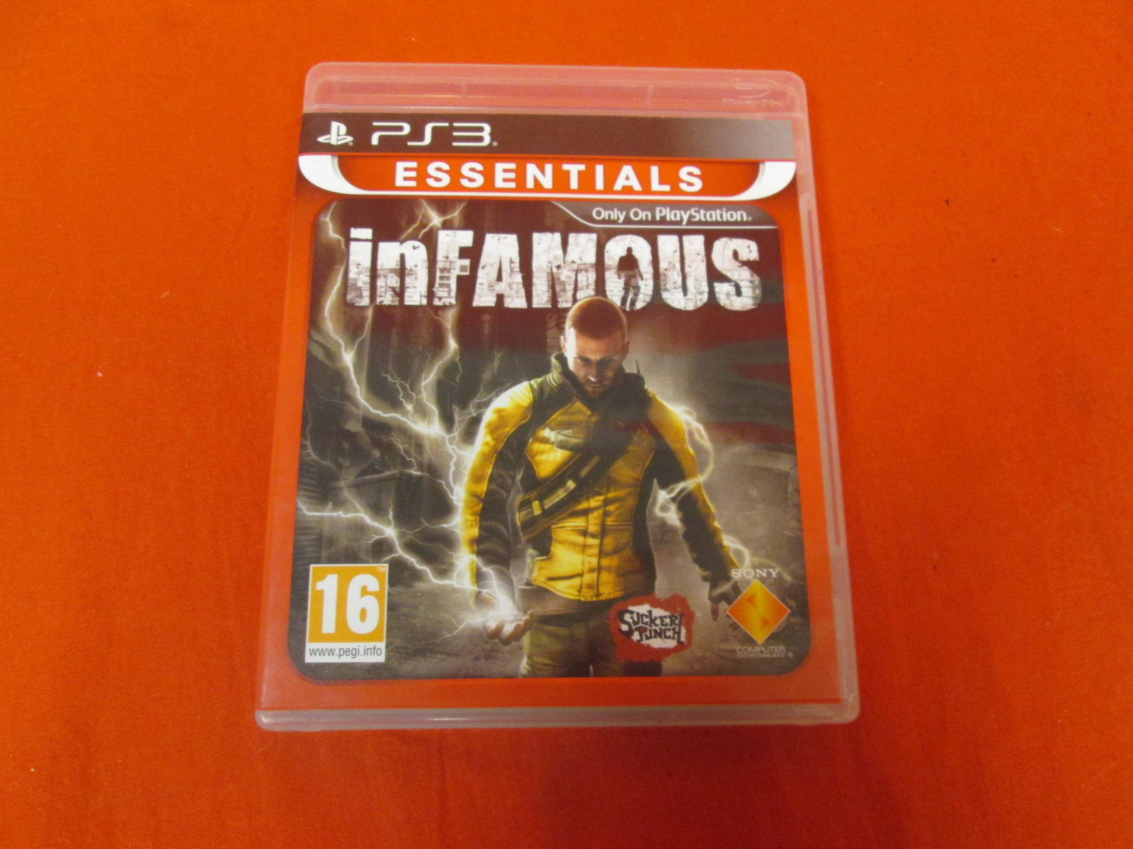 Infamous Essentials PS3 For PlayStation 3 PAL Version With Manual and