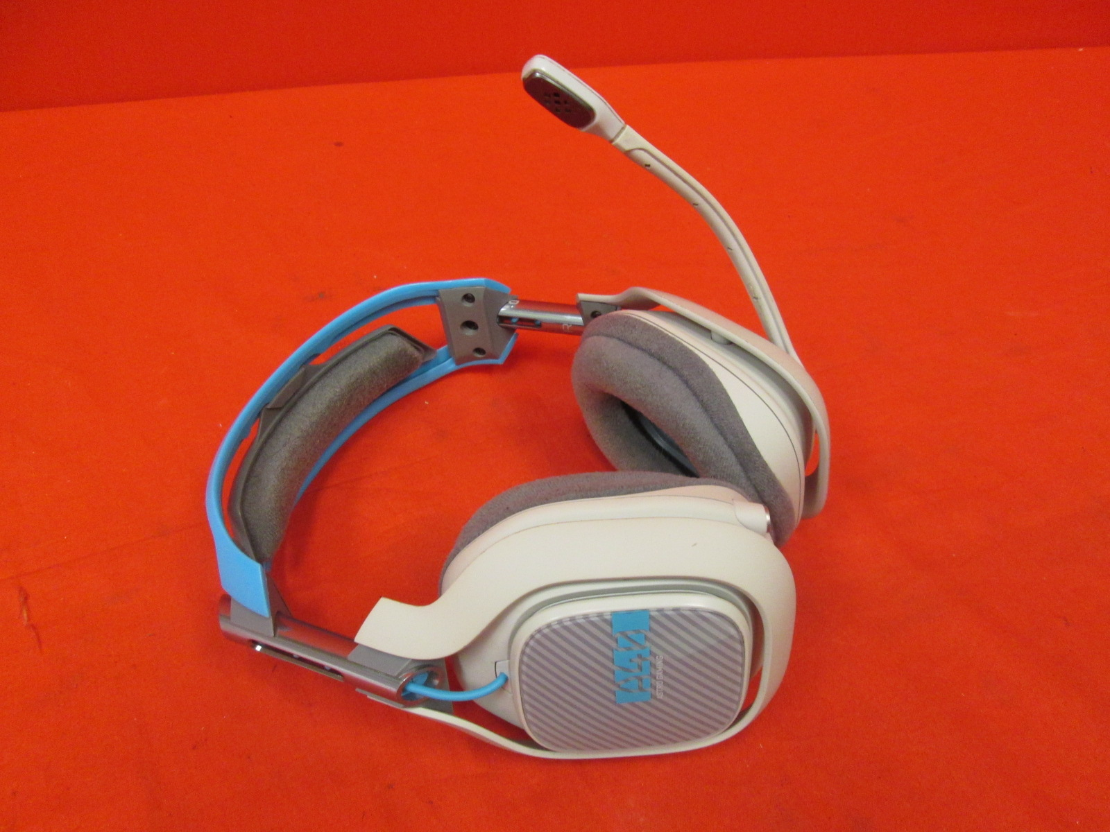Astro Gaming A40 Headset Only Broken Light Grey/blue For Xbox One