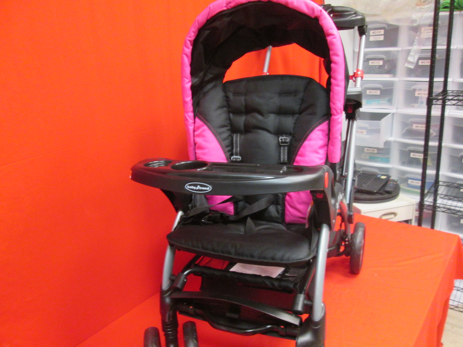 Baby Trend Sit N Stand Ultra Stroller Bubble Gum Ss66044