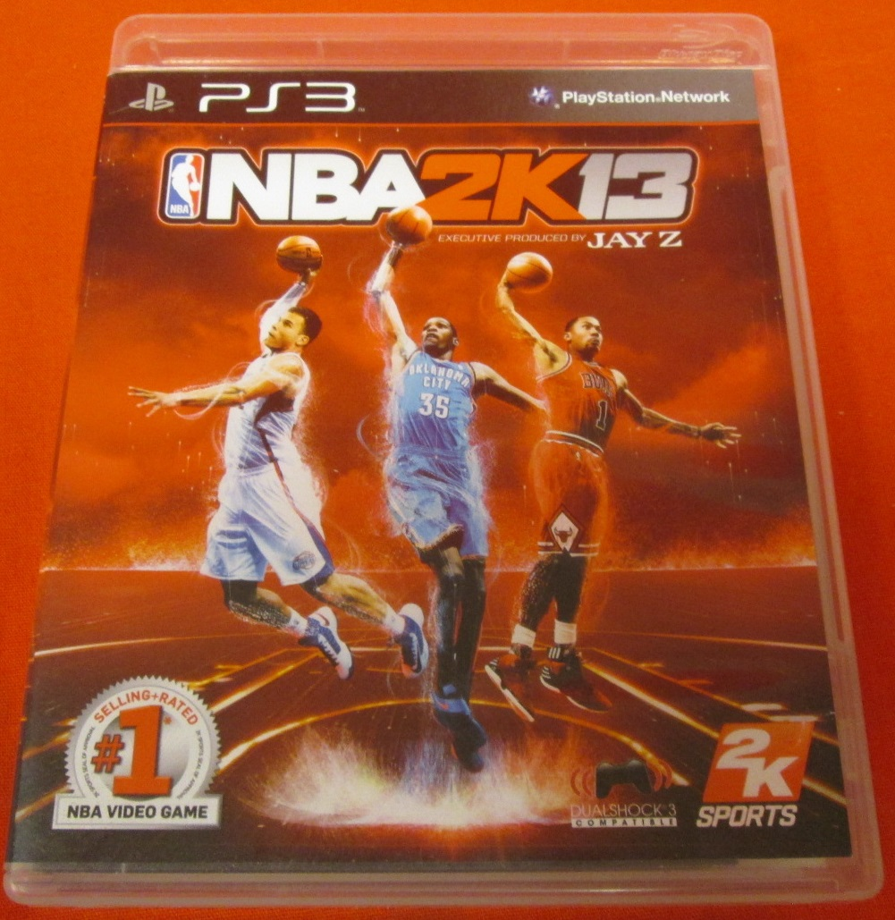 NBA 2K 13 Import Version: Asia For PlayStation 3 PS3 Basketball With