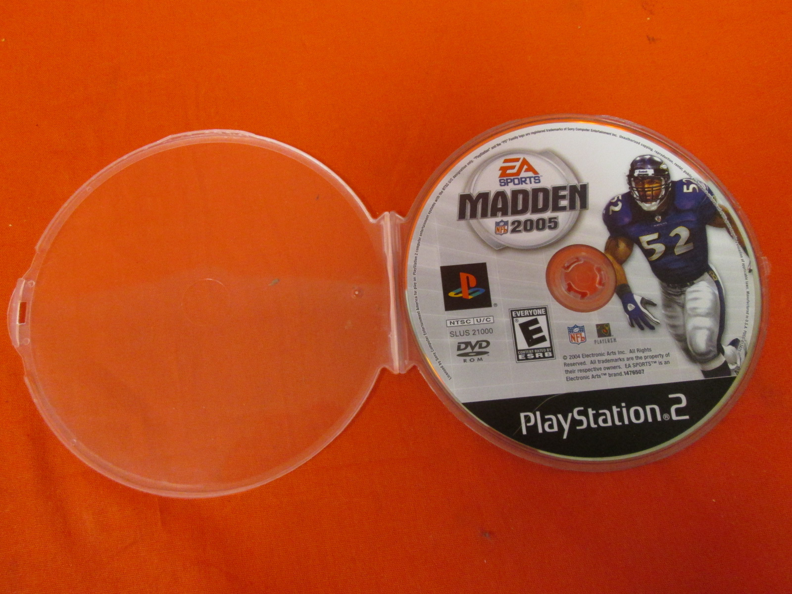 Madden NFL 2005 PS2 For PlayStation 2