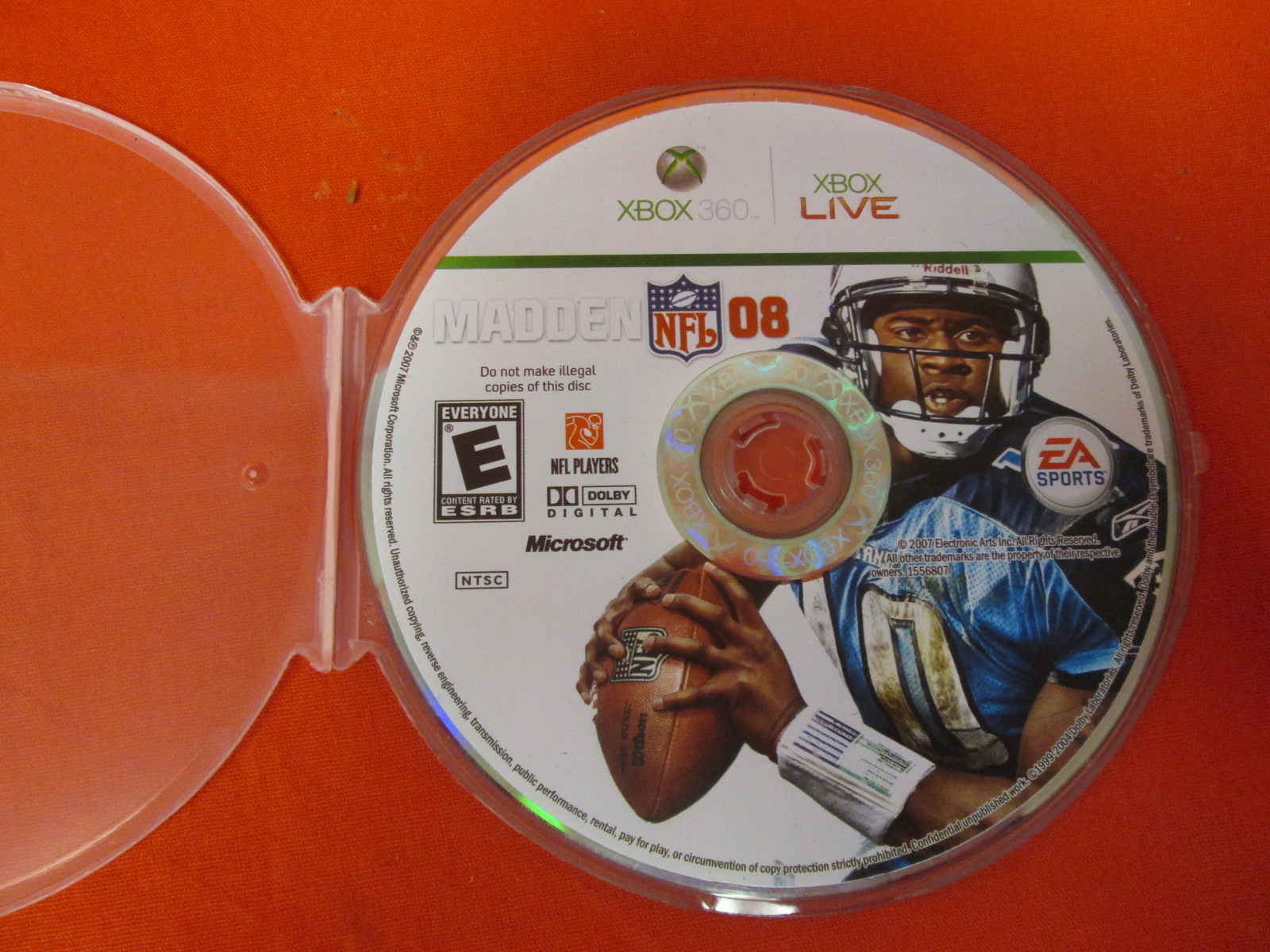 Madden NFL 08 For Xbox 360