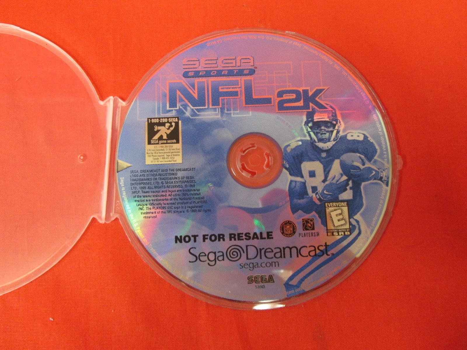 NFL 2K For Sega Dreamcast