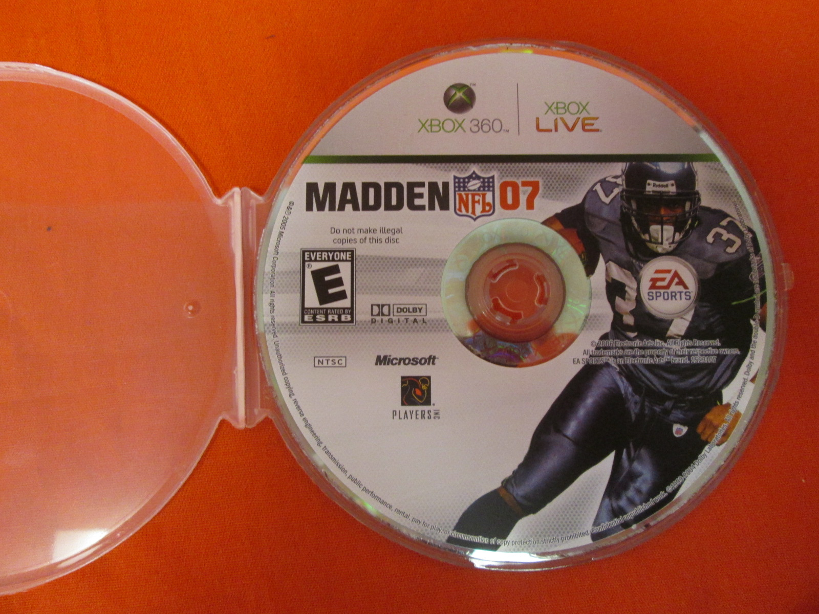 Madden NFL 07 For Xbox 360