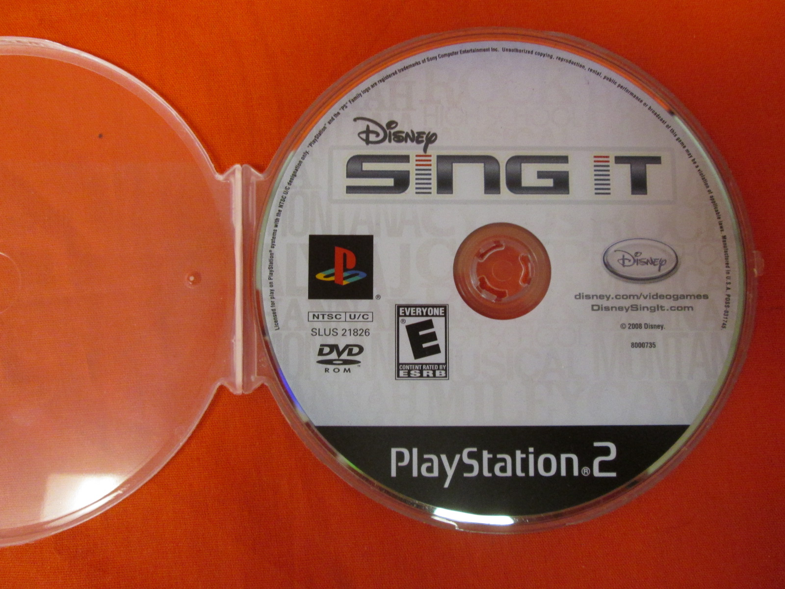 Disney Sing It For PlayStation 2