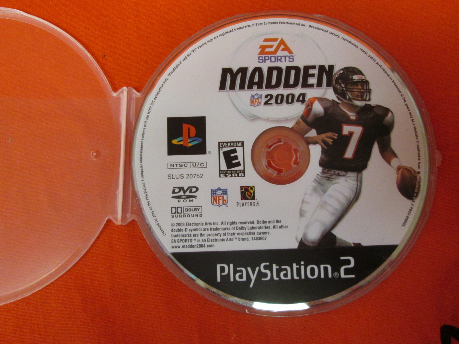 Madden NFL 2004 For PlayStation 2