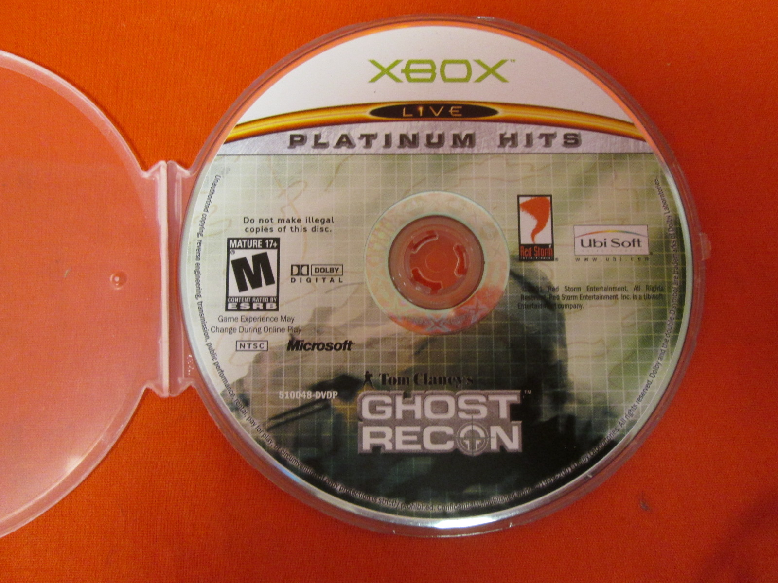 Tom Clancy's Ghost Recon Xbox For Xbox Original