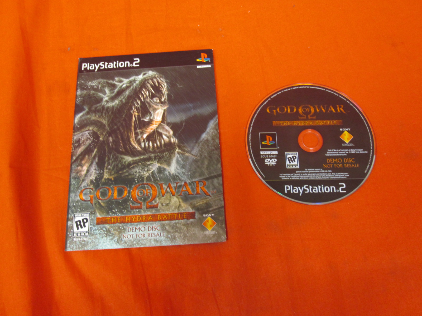 God Of War The Hydra Battle Demo Disc On DVD