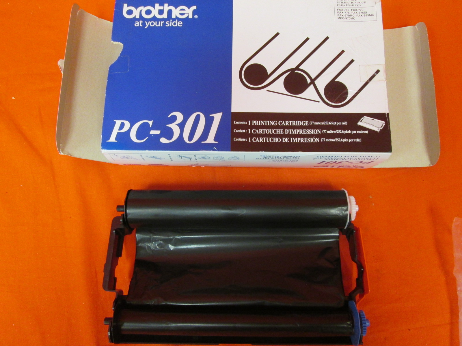 Brother PC-301 Fax/Printer Cartridge Ink