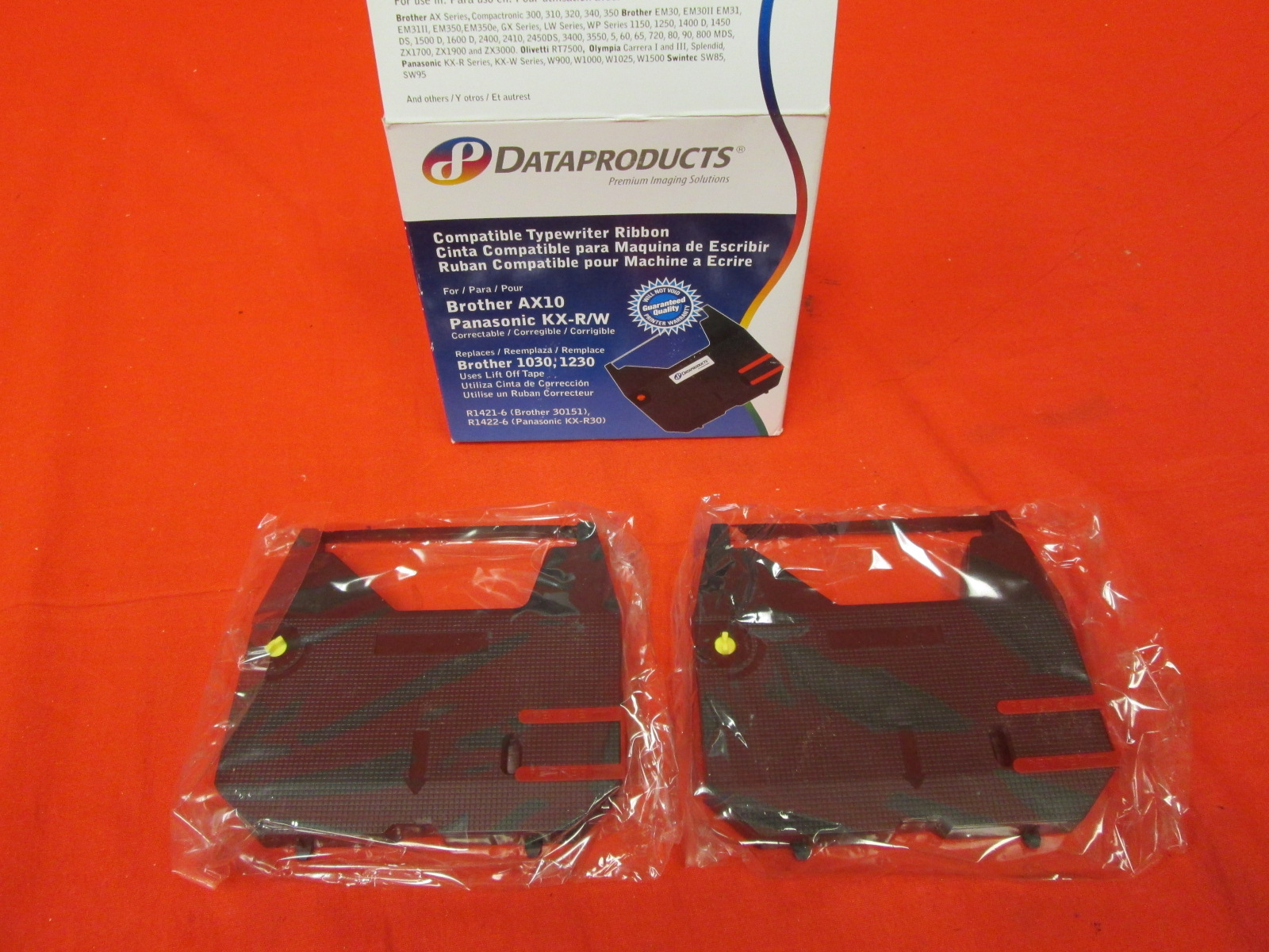 Dataproducts R1420 Typewriter Ribbon Black 2 Pack
