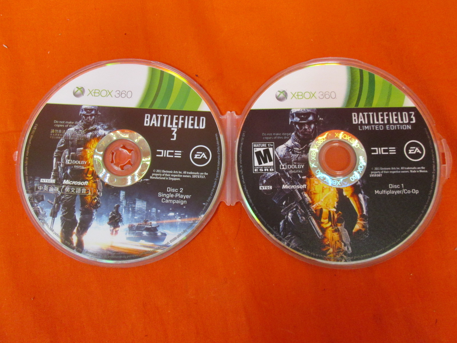 Battlefield 3 Limited Edition For Xbox 360 Edition Japanese