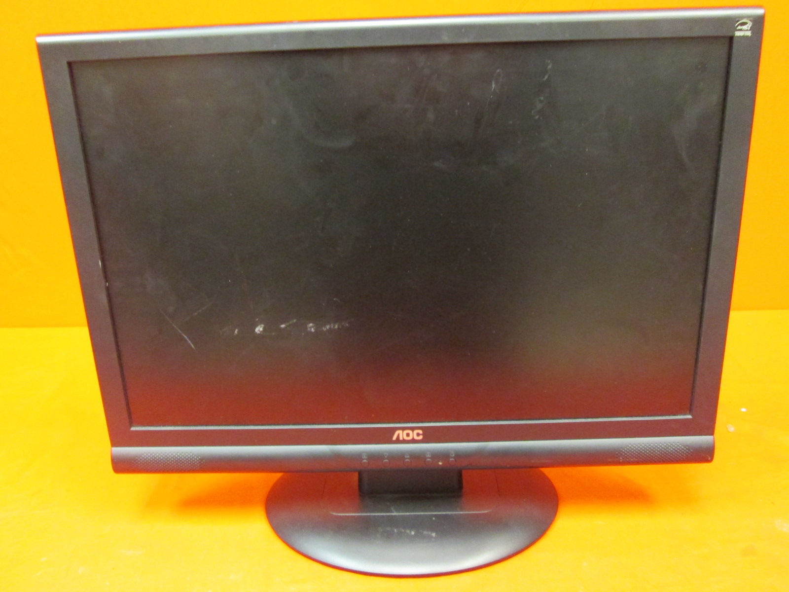 AOC 22LVWK 22 LCD Monitor With Speakers Incomplete
