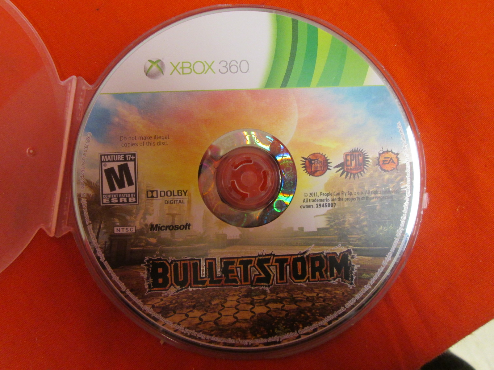 Bulletstorm For Xbox 360