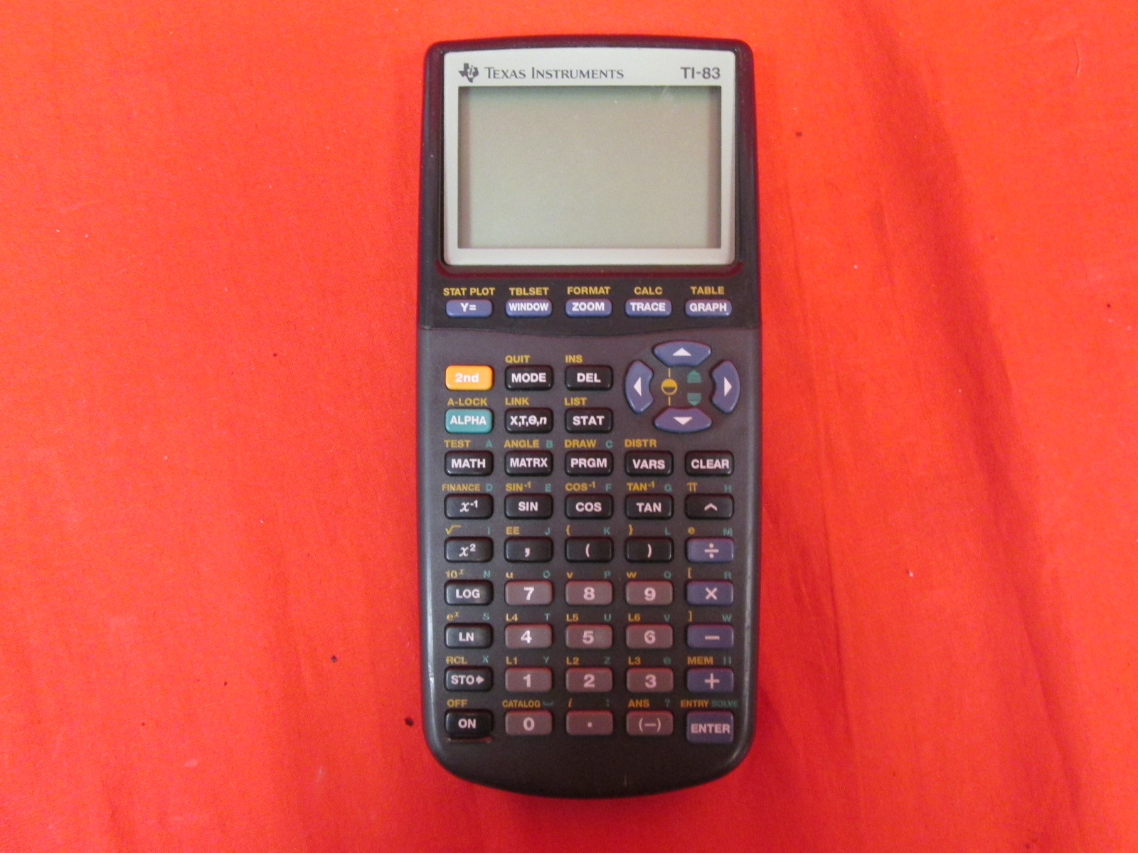 Image 0 of TI-83 Plus Graphics Calculator Handheld Graphing
