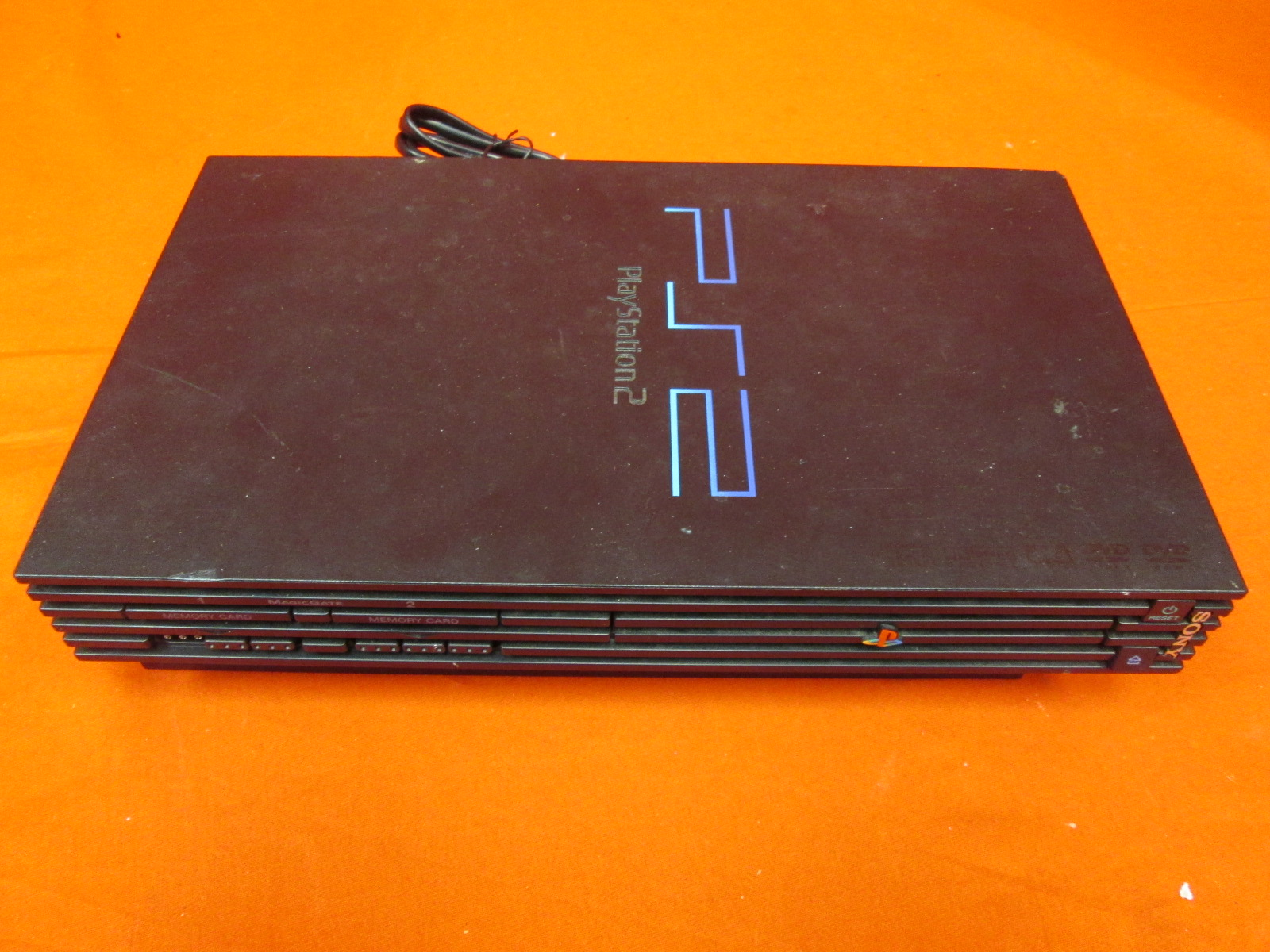 Broken PlayStation 2 Console Black