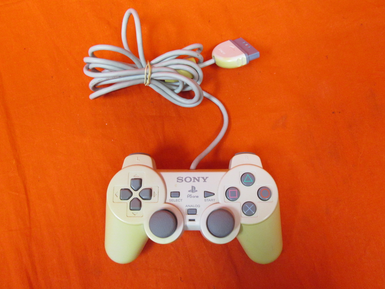 Sony PlayStation Dualshock Controller Gray For PlayStation 1