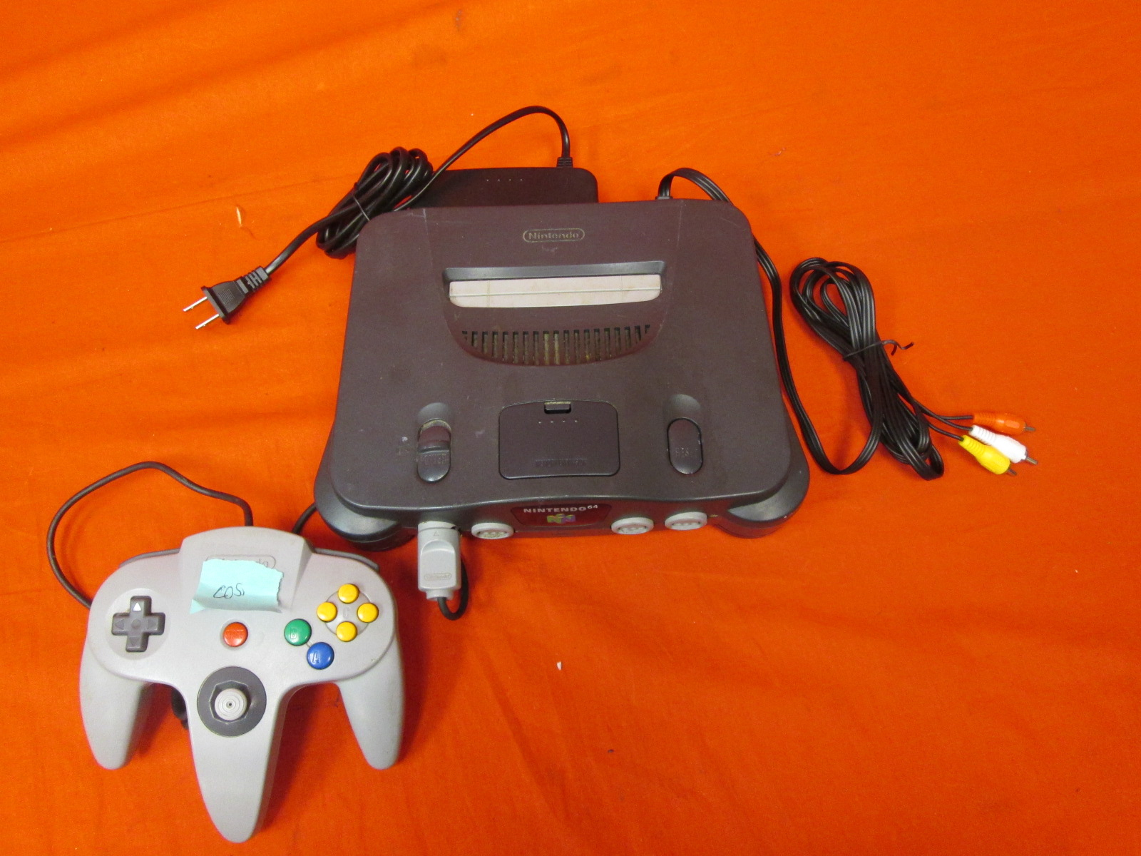 Nintendo 64 System Video Game Console W/ Expansion Pak