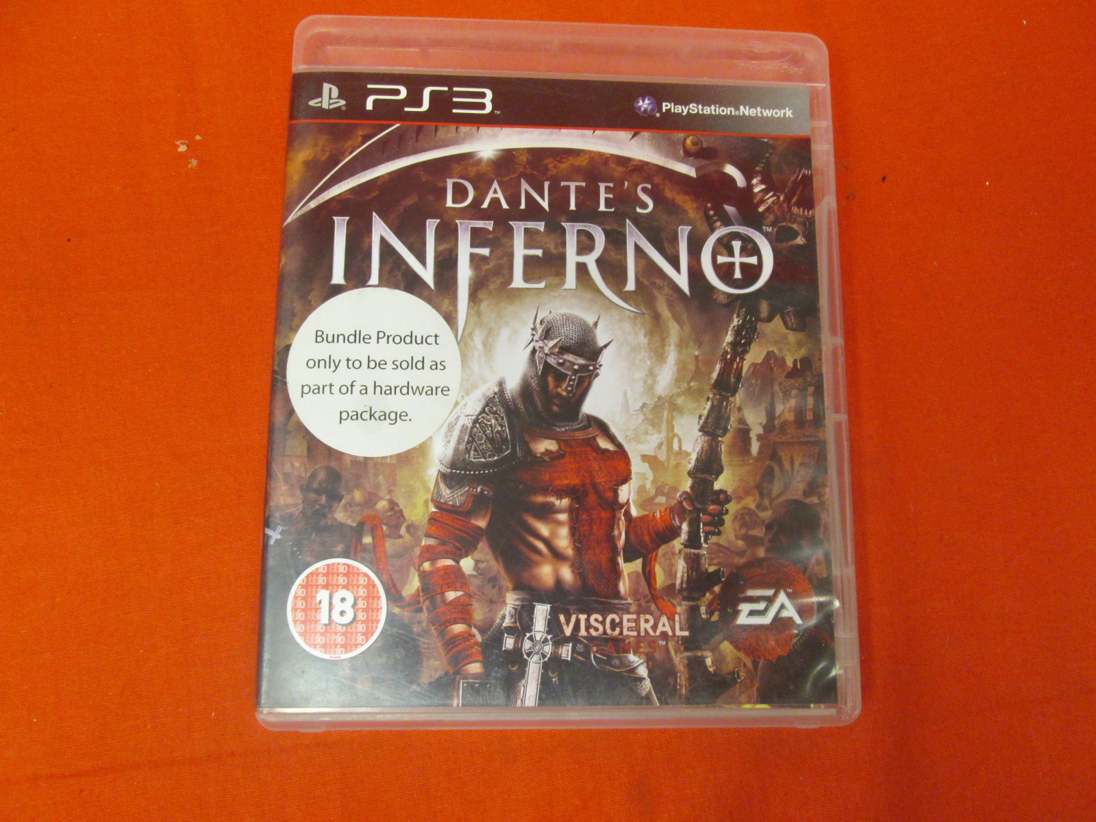Dante's Inferno PS3 UK Import For PlayStation 3 PAL Version With