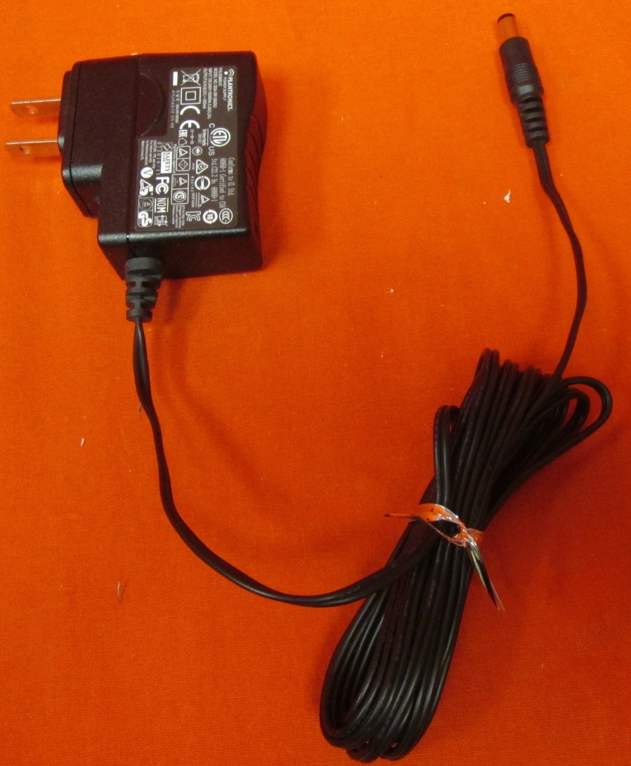 Plantronics AC Adapter Power Supply 9.0V 500MA Telephone Wall Charger