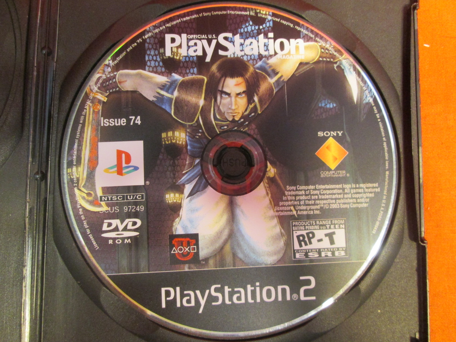 Official PlayStation Magazine Vol 74 Sony 2003 For PlayStation 2