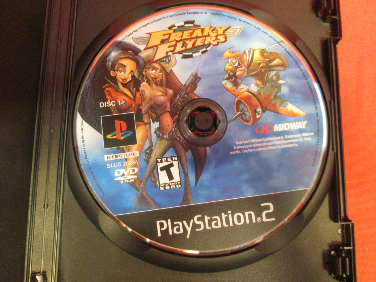 Replacement Disc 1 For Freaky Flyers For PlayStation 2