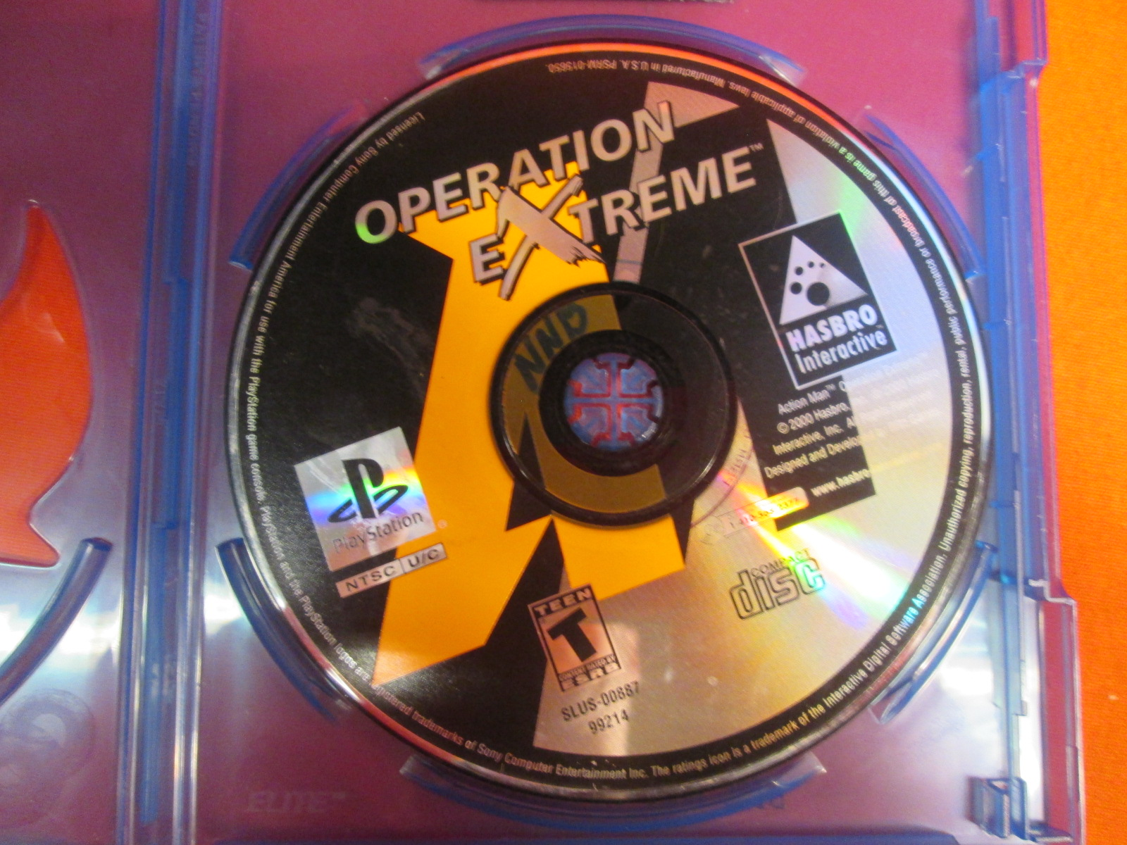Replacement Disc For Action Man Op Extreme For PlayStation 1