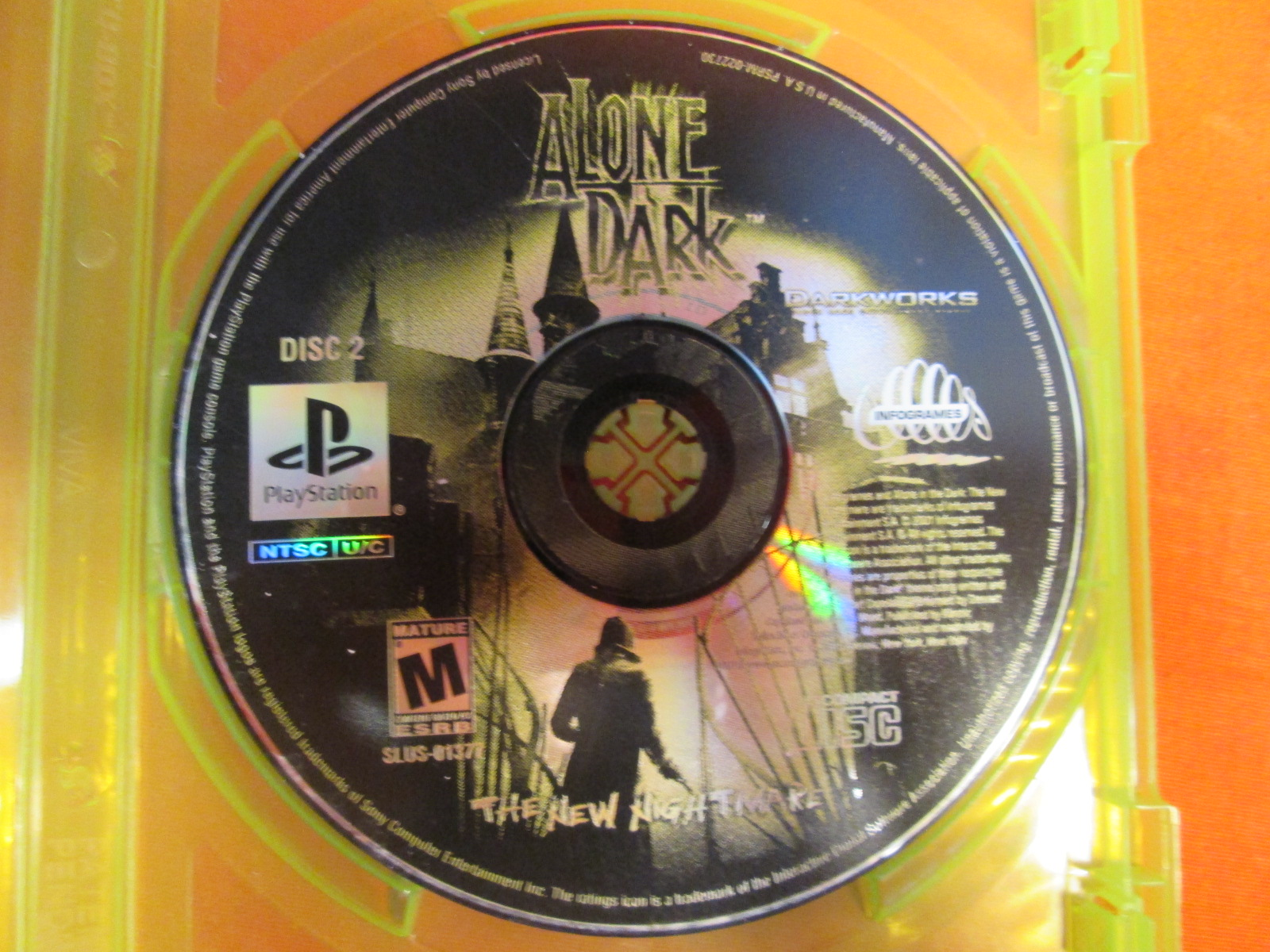Replacement Disc 2 For Alone In The Dark 4: The New Nightmare For