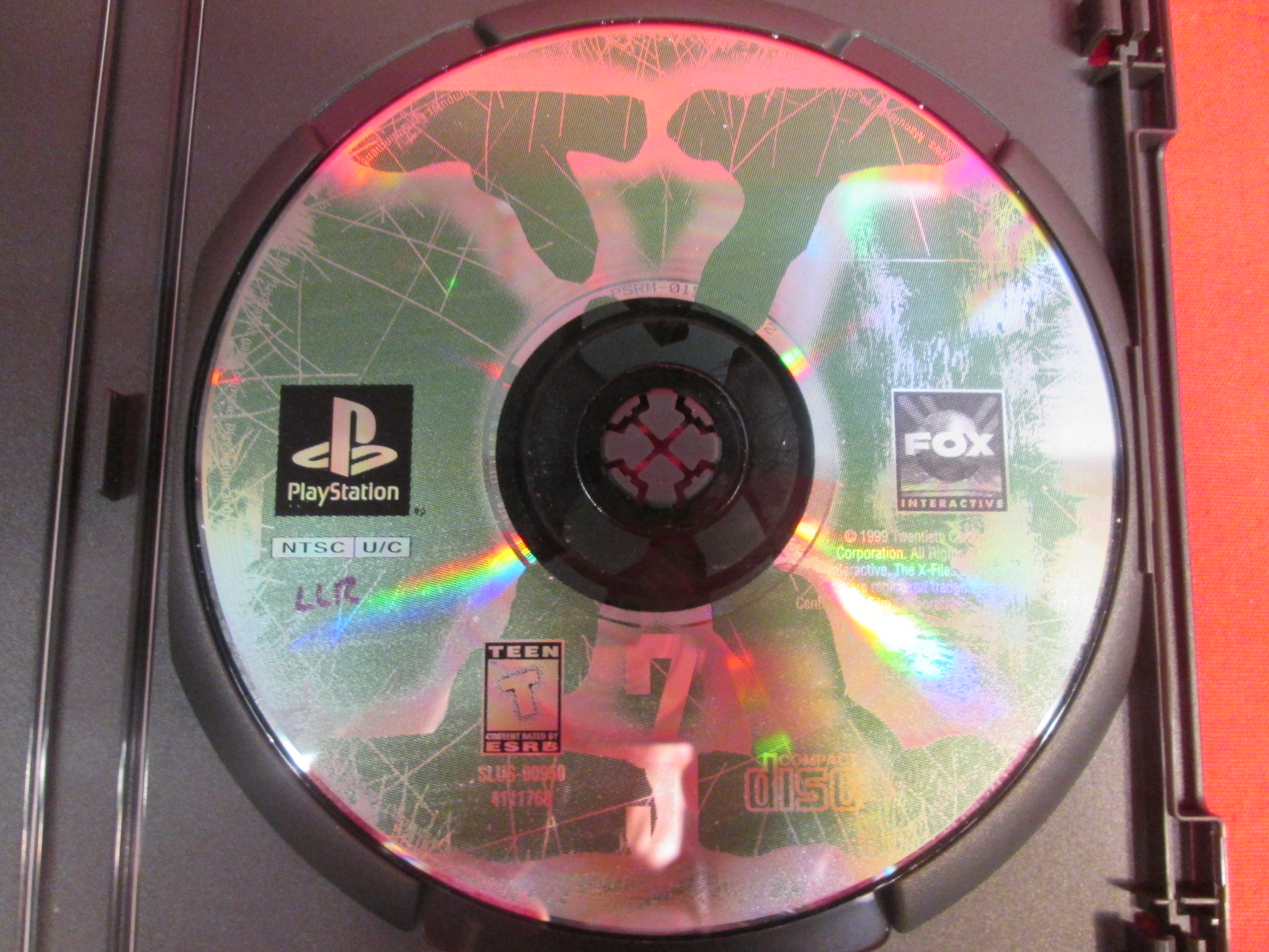 Replacement Disc 3 For The X-Files For PlayStation 1
