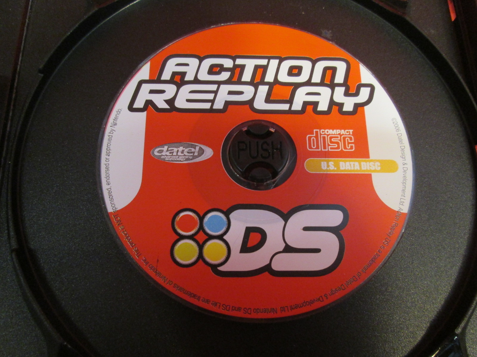 Replacement CD For Action Replay For Nintendo DS