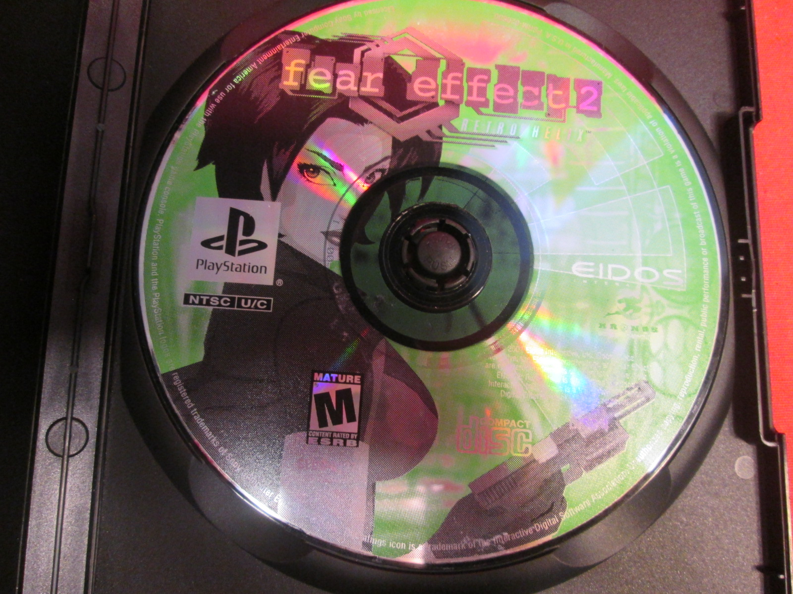 Replacement Disc 4 Only For Fear Effect 2: Retro Helix PlayStation For