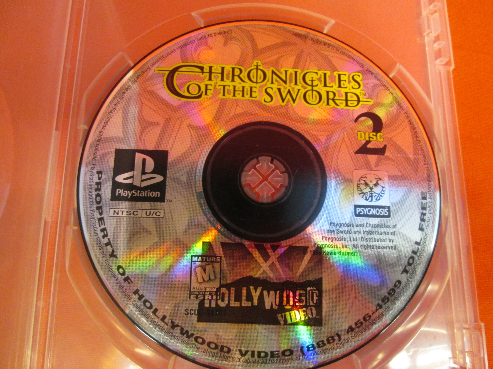Replacement Disc 2 For Chronicles Of The Sword For PlayStation 1