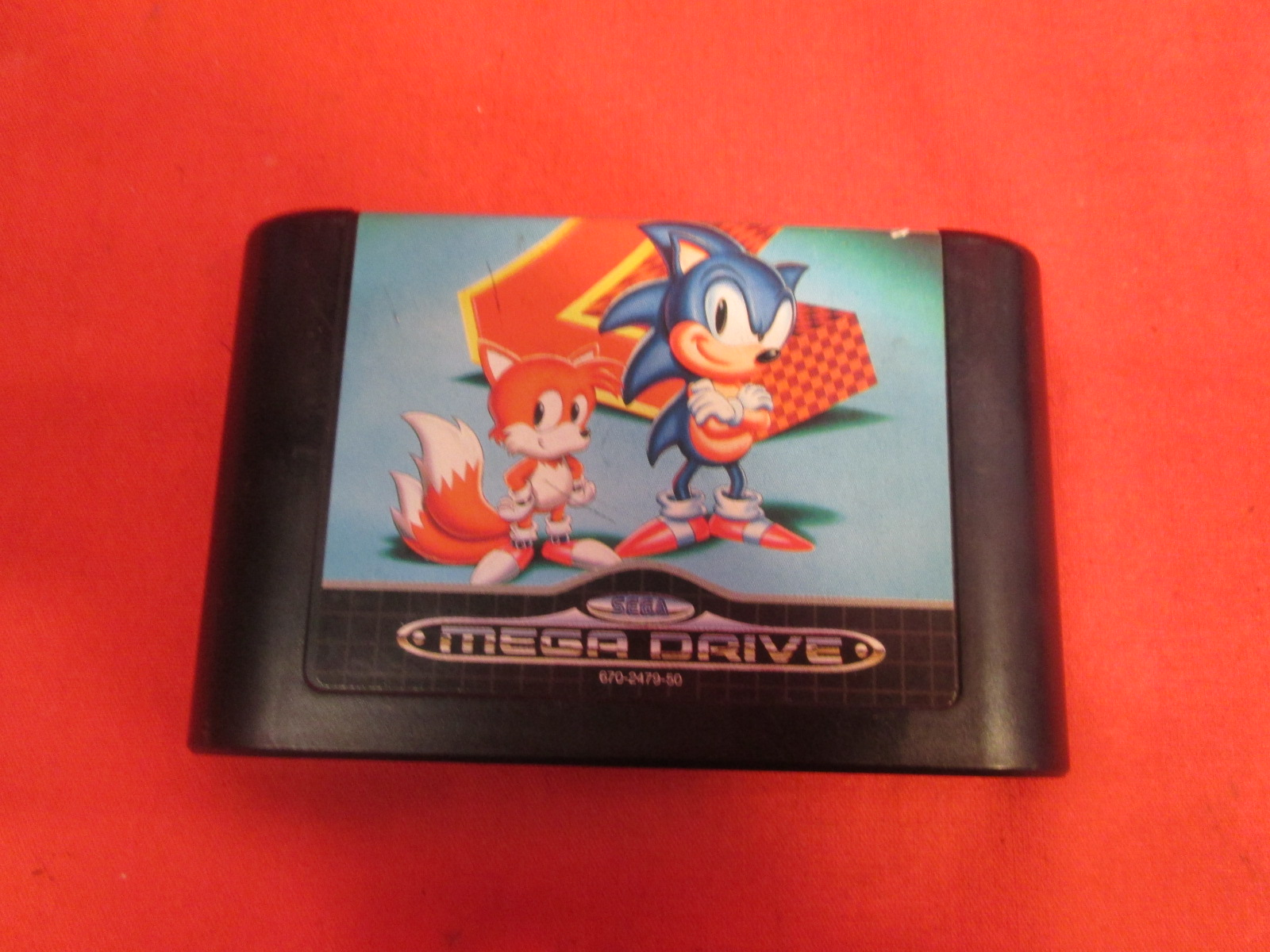 Sonic The Hedgehog 2 Japanese Import For Sega Genesis